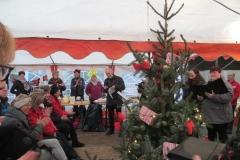 Eine kleine Andacht mit unserem Seelsorger Martin Kaminski und dem Chor Lebenslichter