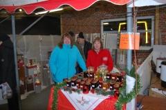 Die leckere selbstgemachte Marmelade wurde angeboten