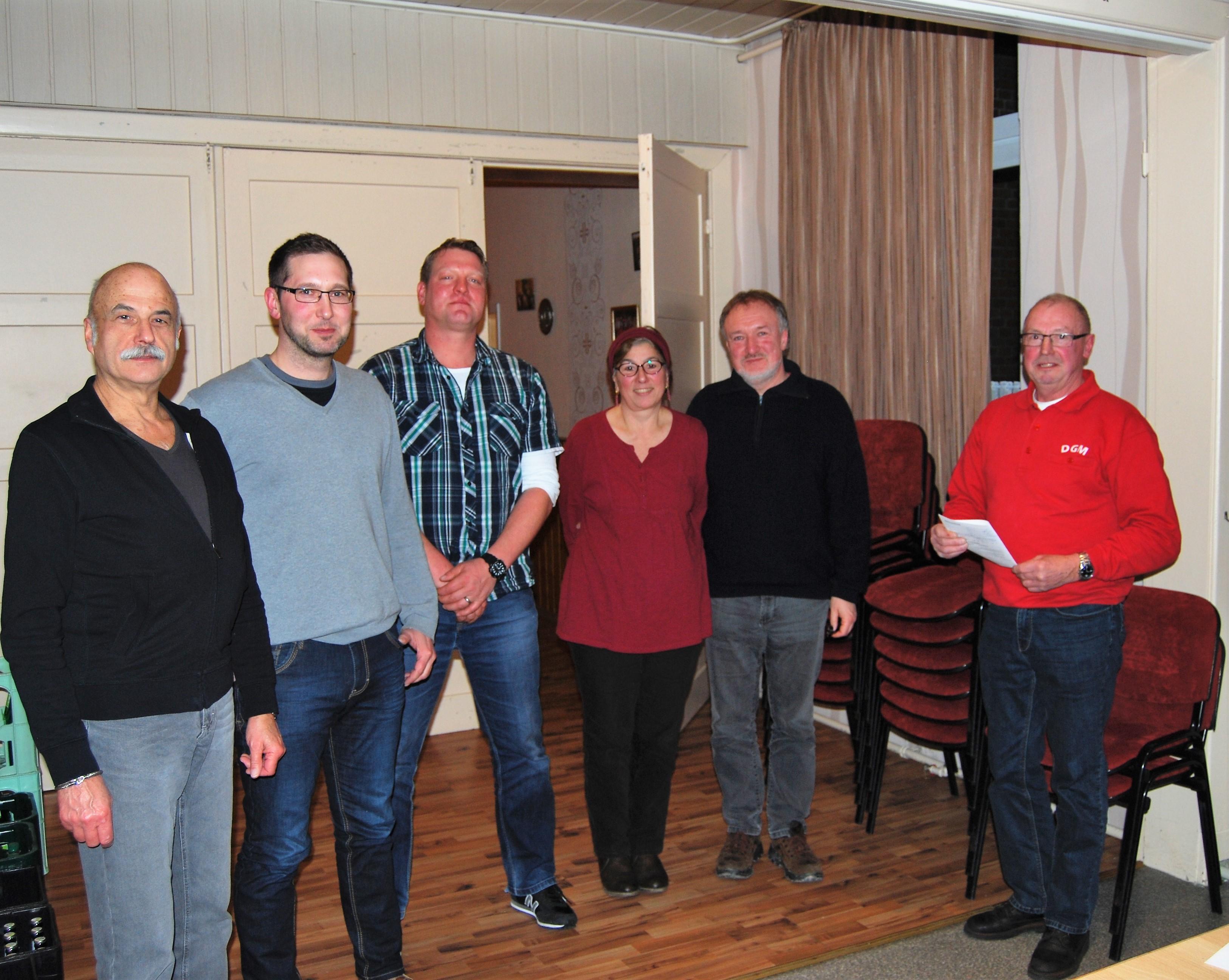 Neue Mitglieder der Dorfgemeinschaft Marcardmoor