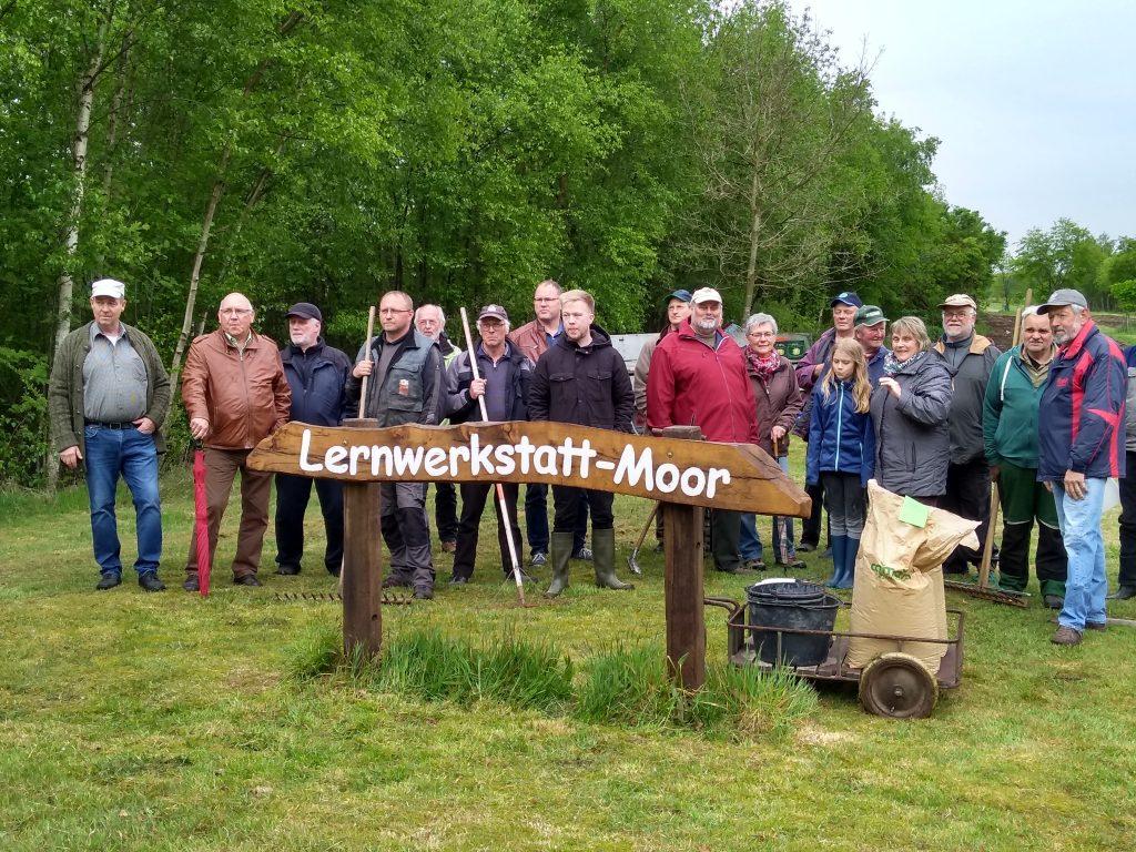 Einsaat Blühwiesen 2019 in Marcardsmoor